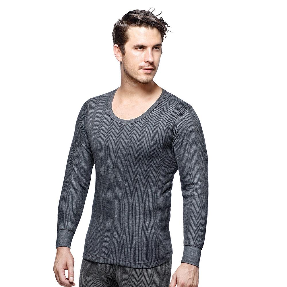Dixcy Scott Men Thermal Inner Wear Dark grey Melange