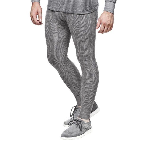 Dixcy Scott Men Thermal Inner Wear Light grey Melange
