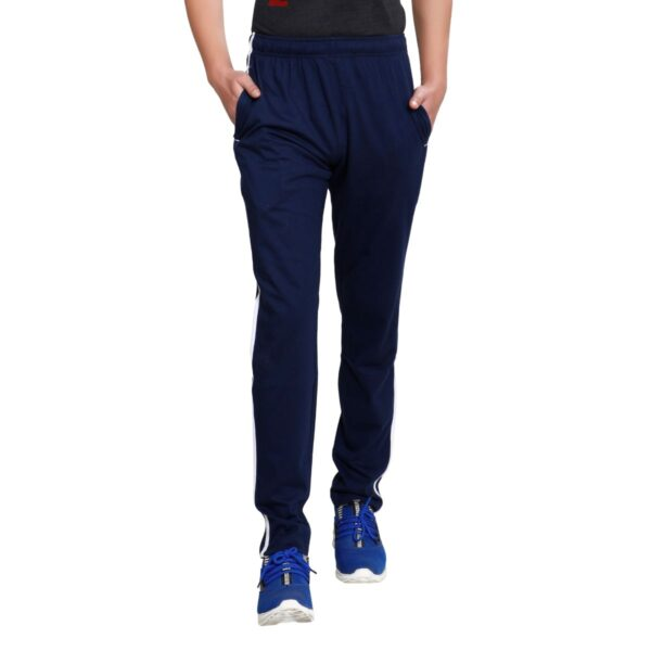 TT Men Cotton Trackpants Navy