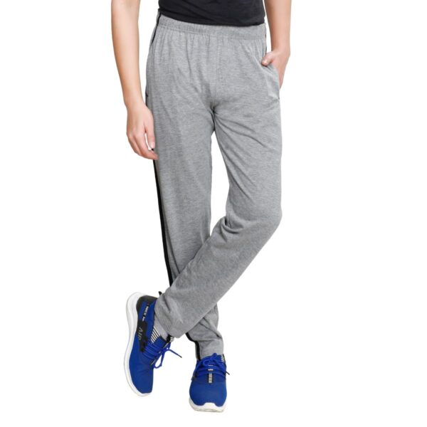 TT Men Cotton Trackpants Grey