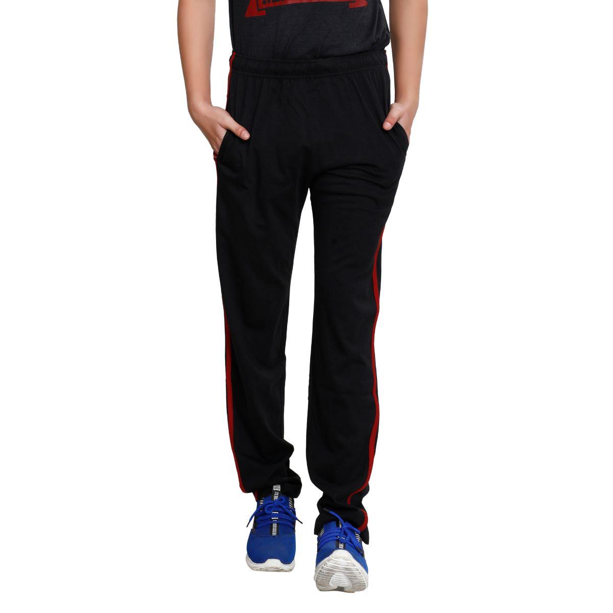 TT Men Cotton Trackpants Black