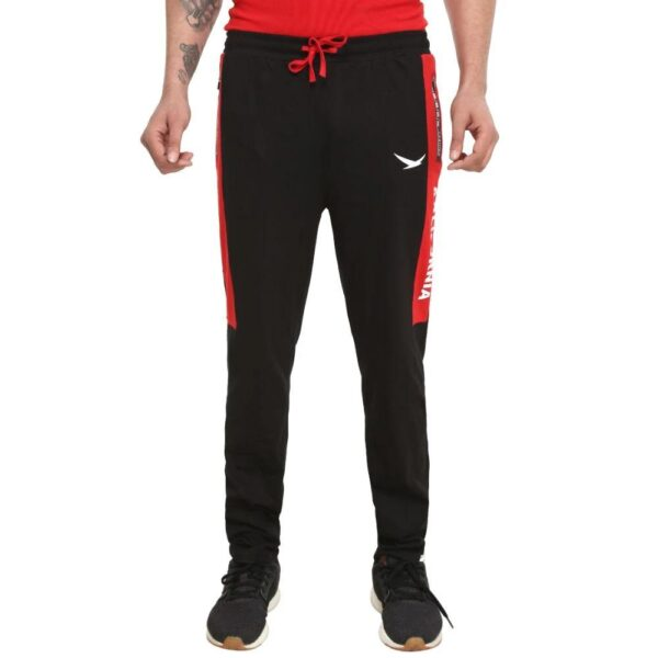 HiFlyers Men Cotton Trackpants Red