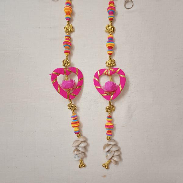 Door Hanging Pink Heart Kodi
