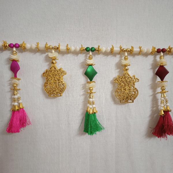 Bandanwal Resham Kalash Design